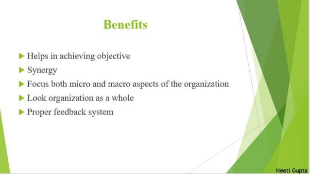 System Approach of Management