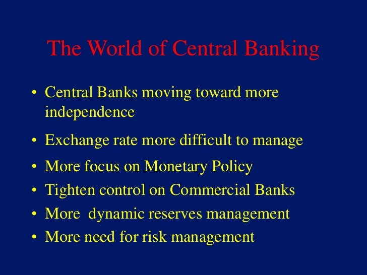 the evolution of the central banking system A brief history in 1911, legislation established the commonwealth bank of australia in 1959, this original body corporate was preserved as the reserve bank of australia (rba) in legislation, specifically to carry on the central banking functions at that same time, the commercial and savings banking functions were transferred into a new institution, which carried on the old name of.