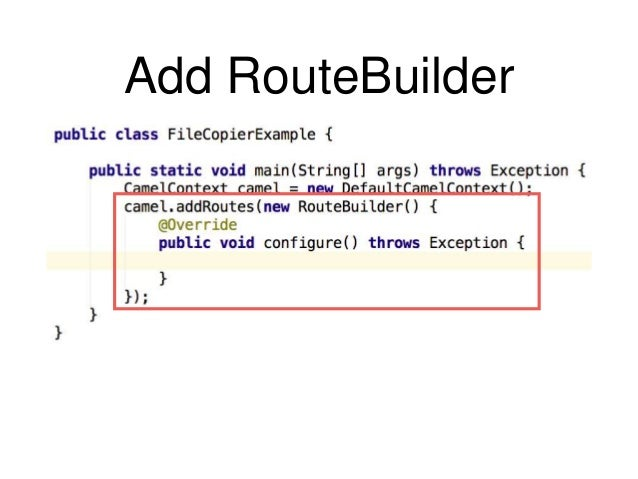 Introduction to Apache Camel