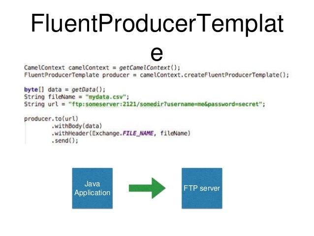 Introduction to apache camel fluentproducertemplat e ftp server java application 81 malvernweather Image collections
