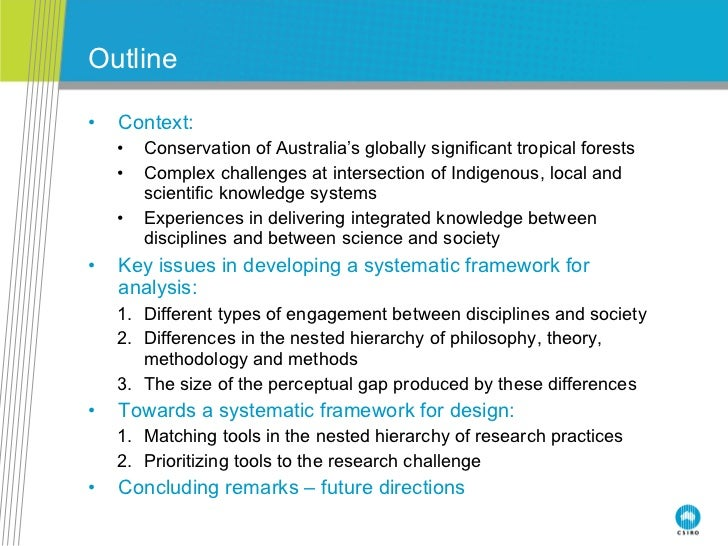 An analysis of the topic of the justification of a hierarchy of disciplines