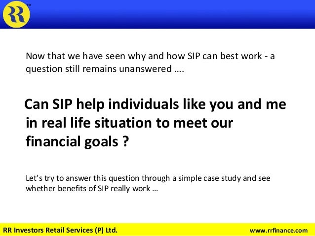 Now that we have seen why and how SIP can best work - a question still remains unanswered …. Can SIP help individuals like...