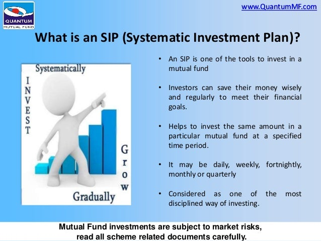 Systematic Investment Planner - SIP Calculator