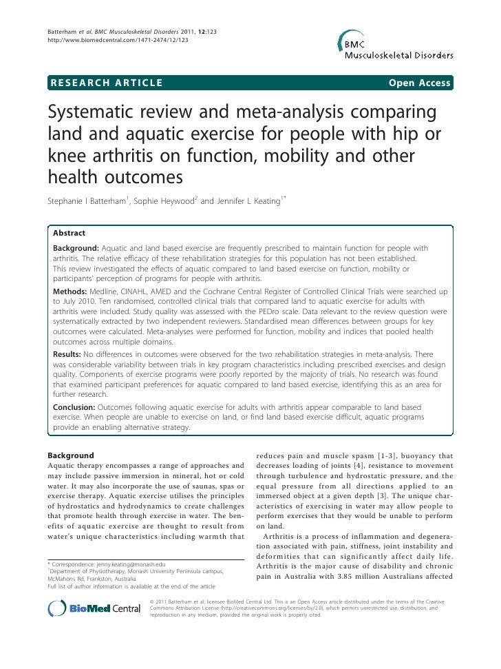 Batterham et al. BMC Musculoskeletal Disorders 2011, 12:123http://www.biomedcentral.com/1471-2474/12/123 RESEARCH ARTICLE ...