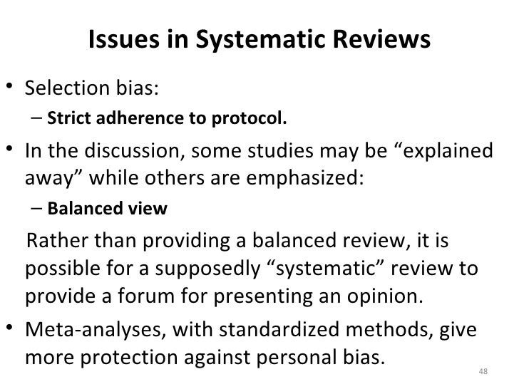 Can I include Case-Series in a Systematic Review?