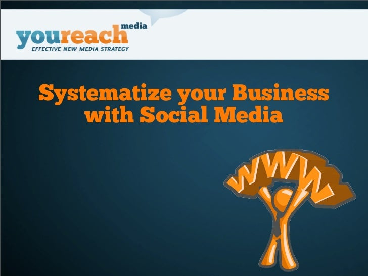 Systematize your Business    with Social Media