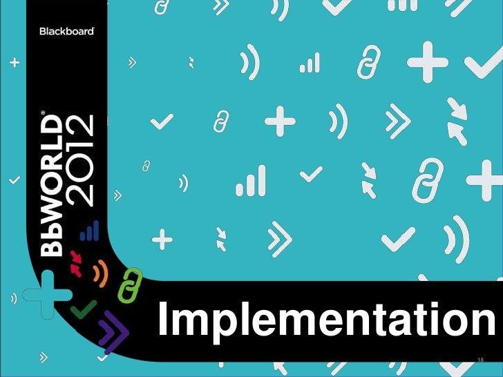 Implementation             18