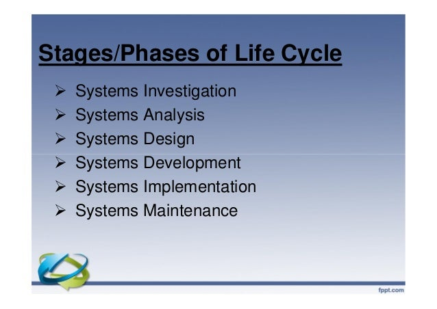 applying the systems development life cycle essay When looking at the life span for the development of an application or system from life span for the development of system development life cycle.