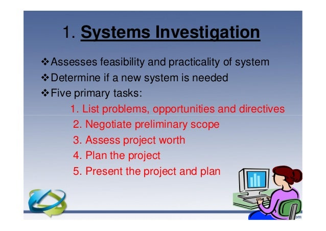 an in depth analysis of the problem of implementation of a new system by systems analysts Introduction to business systems analysis  for the new system prior to implementation  the new system necessitates an in-depth knowledge of.