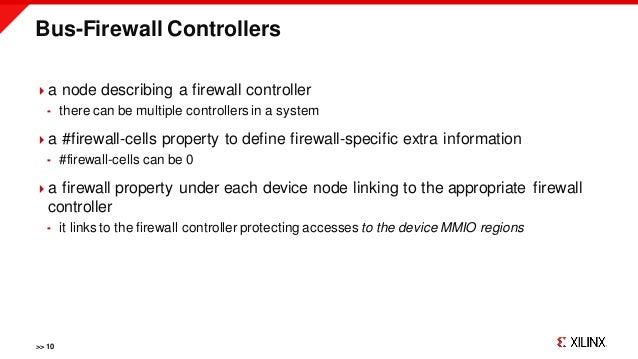 Bus-Firewall Controllers >> 10 a node describing a firewall controller  there can be multiple controllers in a system a...