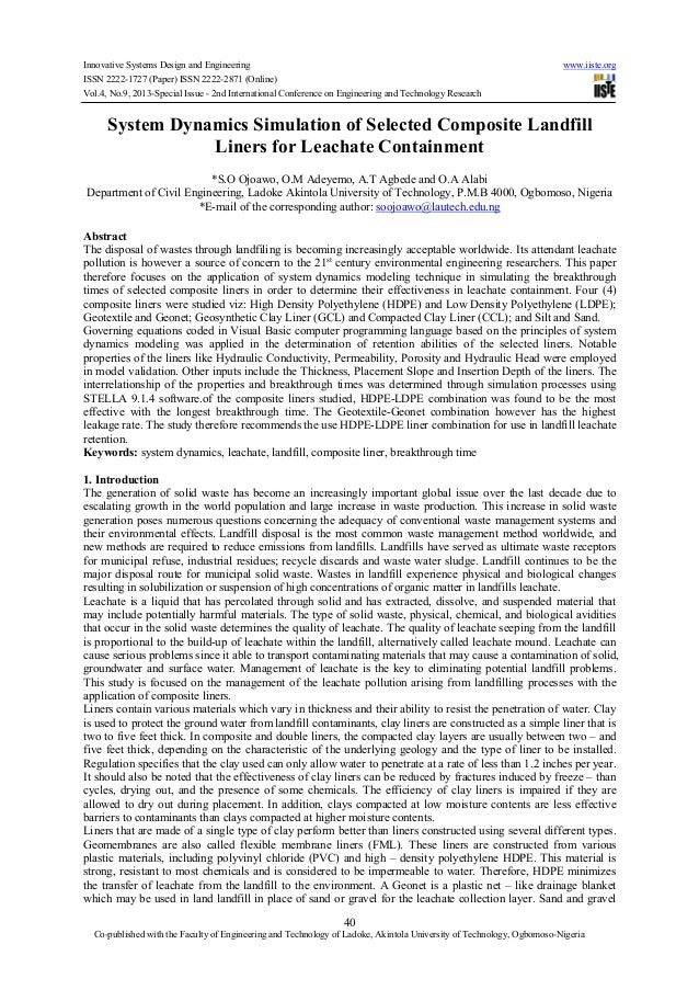 Innovative Systems Design and Engineering www.iiste.org ISSN 2222-1727 (Paper) ISSN 2222-2871 (Online) Vol.4, No.9, 2013-S...