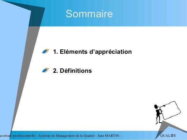 Systeme management qualite Slide 2