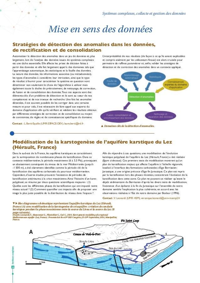 Systèmescomplexes 12 Systèmes complexes, collecte et gestion des données Faille des Matelles-Corconne Pic Saint Loup Sce d...