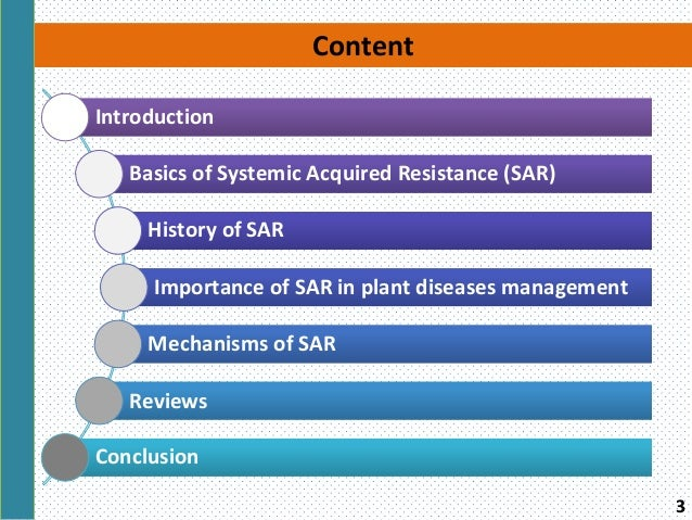Systemic Acquired Resistance Sar And It S Significance In Plant Di