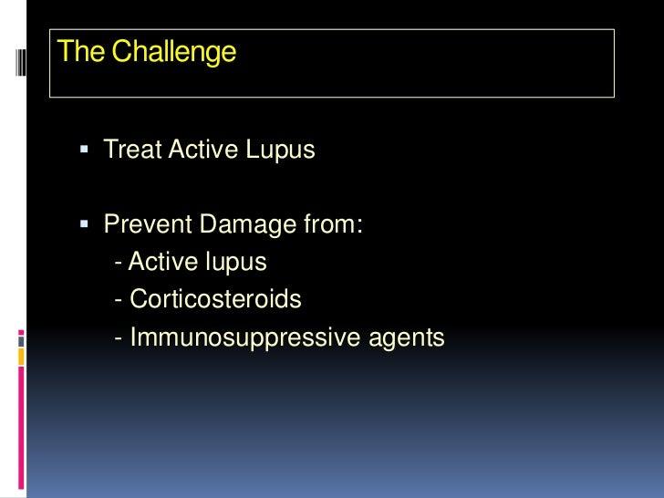 high dose steroids lupus