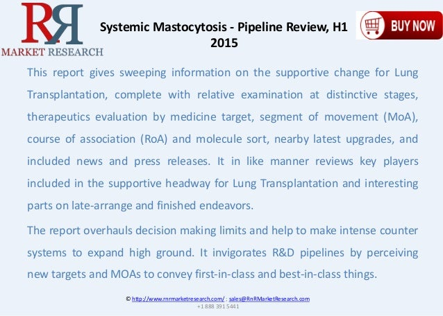 Systemic mastocytosis development pipeline review h1 2015 malvernweather Images