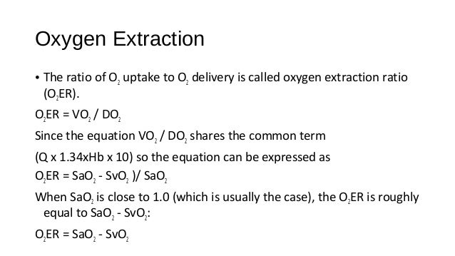 Systemic Oxygenation