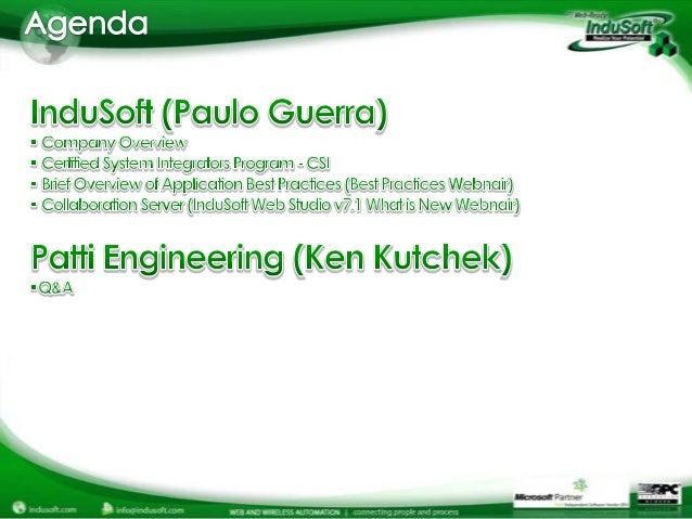 Best Practices for System Integrators Slide 2