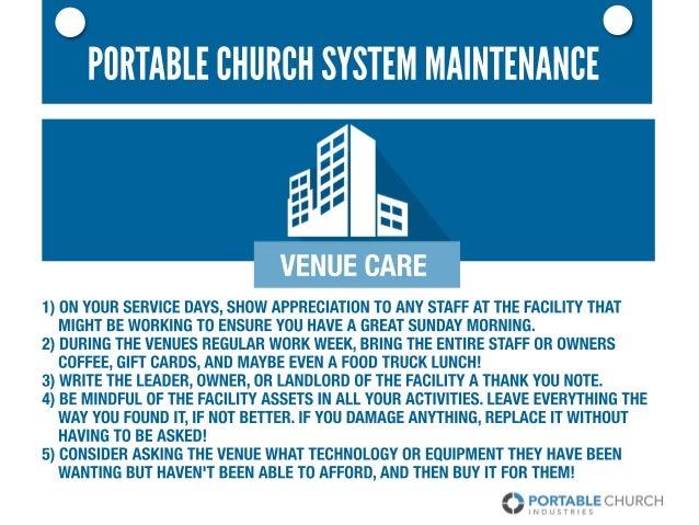 Portable Church System Maintenance Slide 3