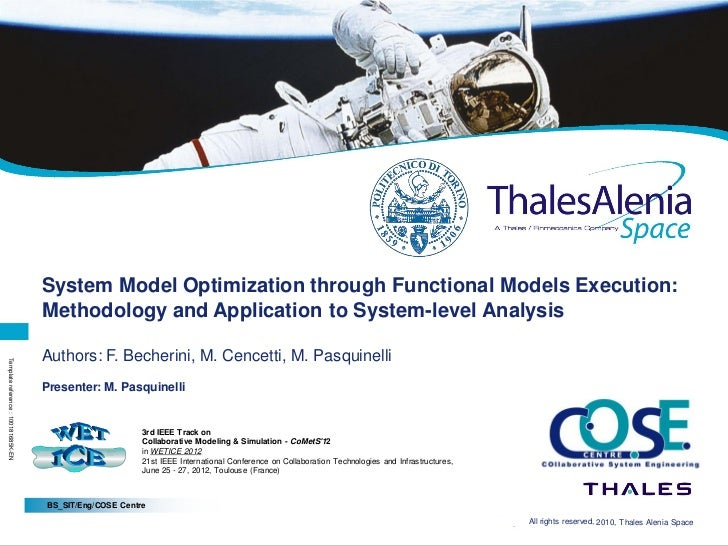 Page 1                                     System Model Optimization through Functional Models Execution:                 ...