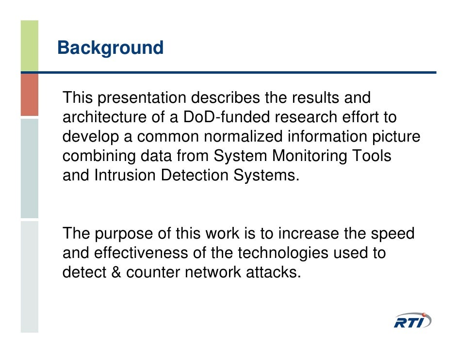 ph d thesis intrusion detection system Intelligent and sophisticated security controls such as intrusion detection and  preven-  motivated by this fact, this doctoral thesis focuses on the design and.
