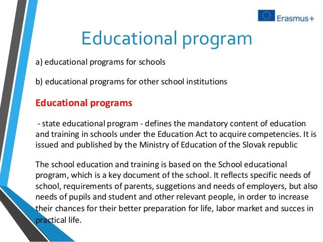 education in slovakia We provide free services to non-eu nationals: legal advice, labour and social counselling, support of education and retraining of foreign nationals, free slovak language courses for foreign nationals, courses of social and cultural orientation in slovakia, support of the life of foreigners in slovakia.