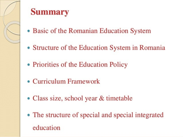 System of prevocational&vocational education for SEN in Romania