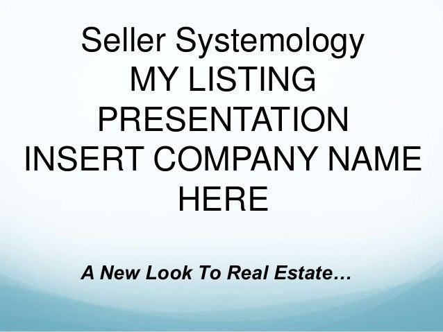 Michael Cuevas Buyer and Seller Systemology Slide 2