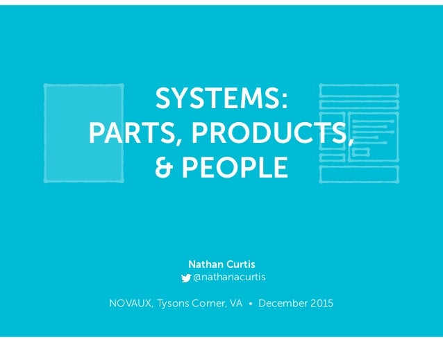 NOVAUX, Tysons Corner, VA • December 2015 SYSTEMS: