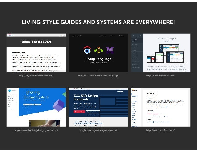 MISSION ACCOMPLISHED We just launched our living style guide!