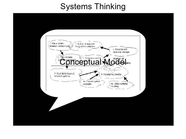 Systems Thinking Conceptual Model