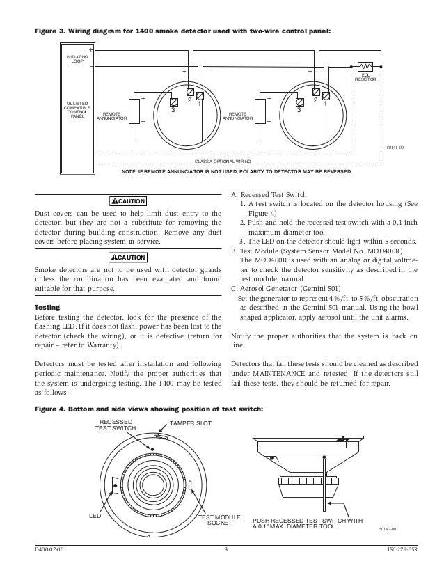 system sensor smoke detector wiring diagram wiring system sensor b401 connection diagram heat sensor wiring diagram data