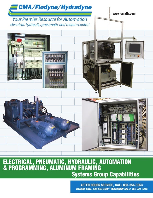 www.cmafh.com  Your Premier Resource for Automation  electrical, hydraulic, pneumatic and motion control  electrical, pneu...