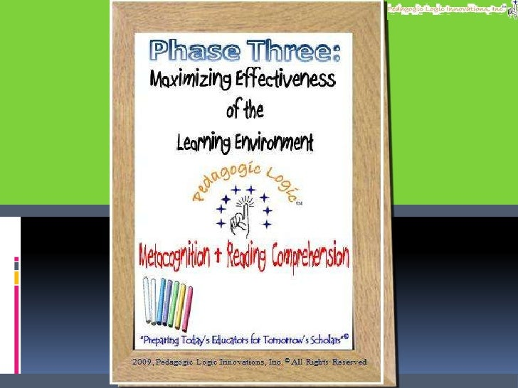 Maximizing Effectiveness<br />of the<br />Learning Environment<br />