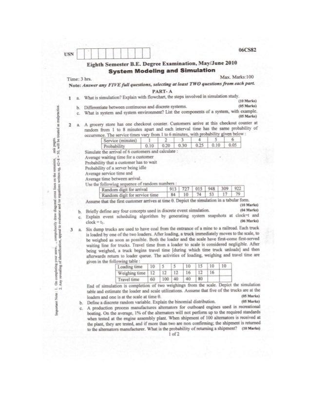 System simulation 06_cs82