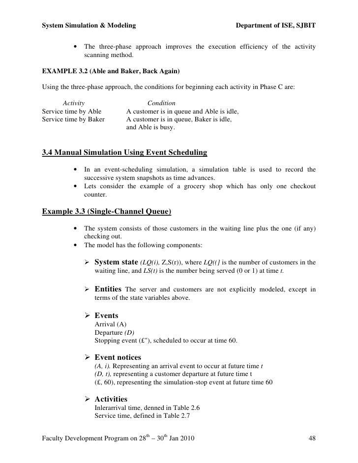 System simulation modeling notessjbit urtaz Image collections