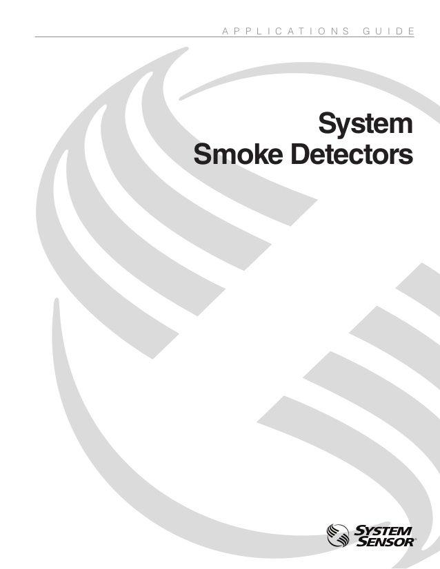 System smoke detectors_appguide_spag91
