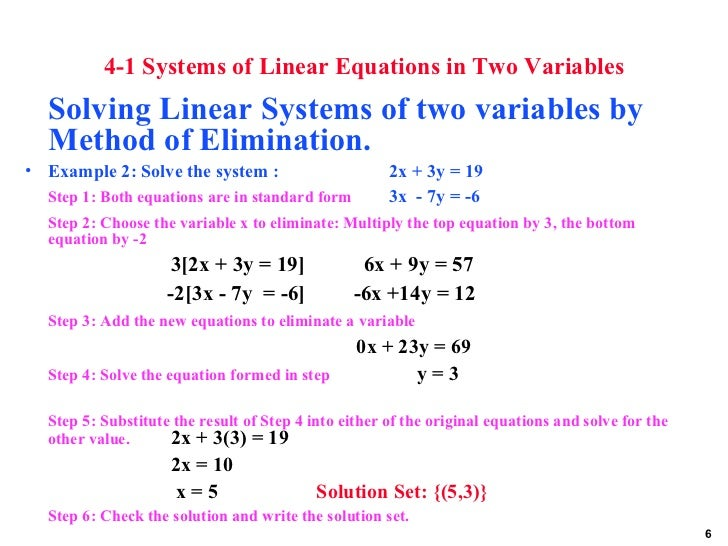 linear equations in two variables questions