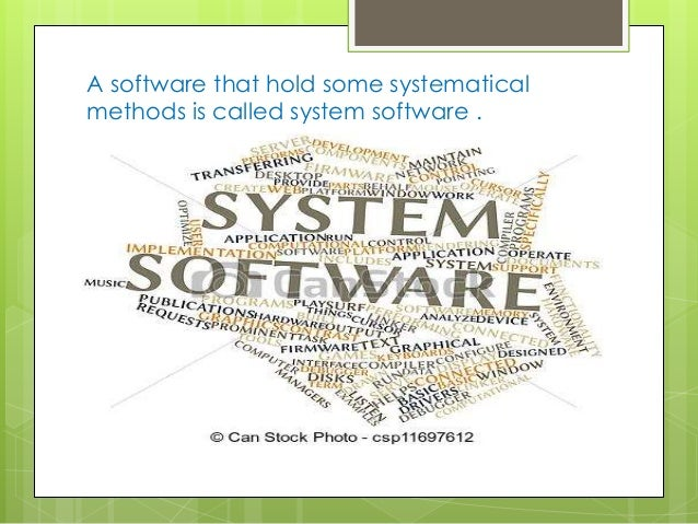 what are some examples of application software programs