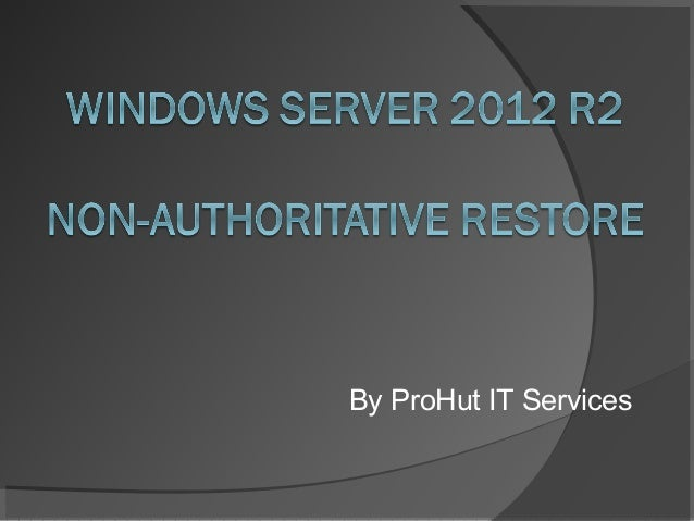 By ProHut IT Services