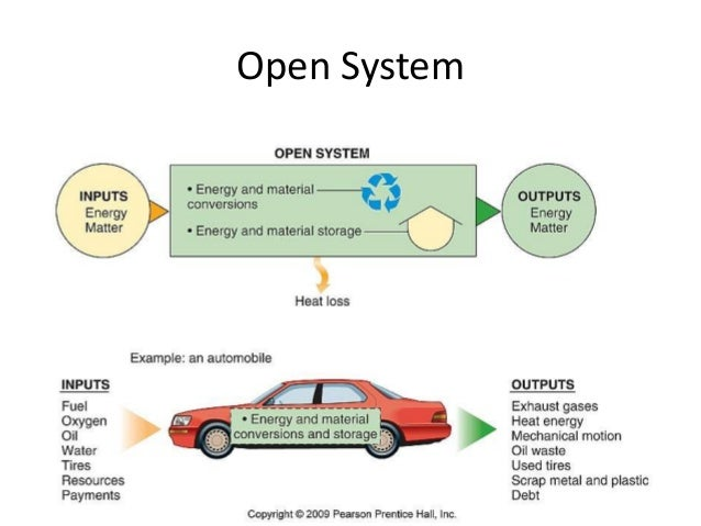 notes on open system theory In general systems theory  boulding [5] emphasized that organizations are open  systems, or self-maintaining structures we note that technology played no role.