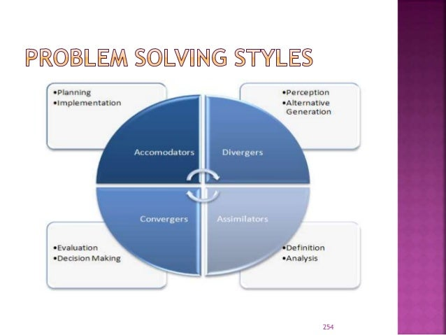 Systems thinking for analyzing problems
