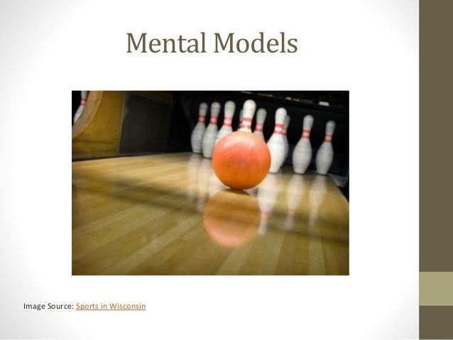 Mental Models Image Source: Sports in Wisconsin