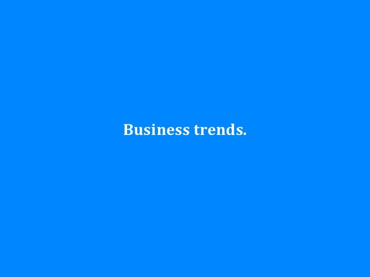 Business trends.#IAS12 - @johannakoll