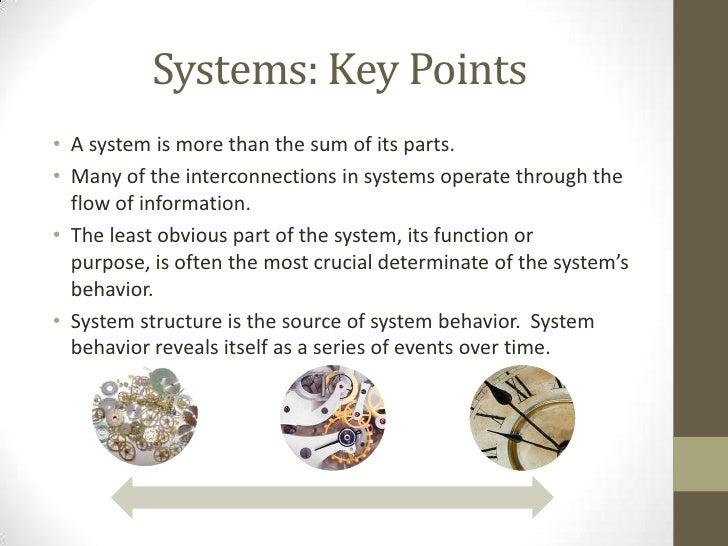 A System Case Study