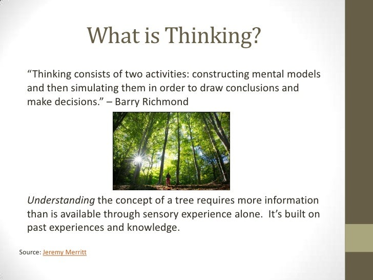 Mental ModelsImage Source: Flickr Creative Commons, by Dave Hosford