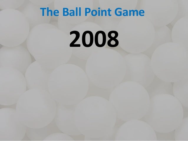 Systems Thinking with the Ball Point Game Slide 3