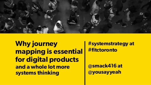 Why journey mapping is essential for digital products 