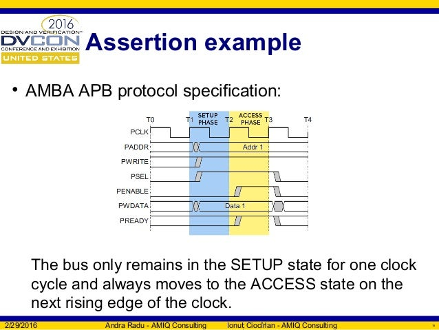 SystemVerilog Assertions verification with SVAUnit - DVCon