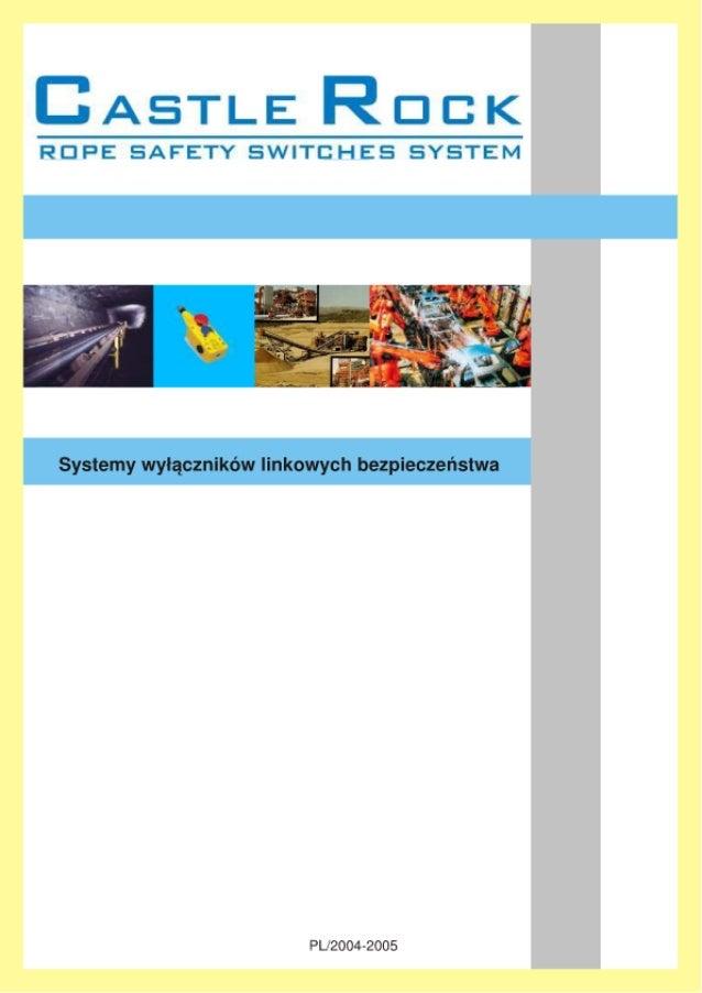 Systemy wyłączników linkowych bezpieczeństwa